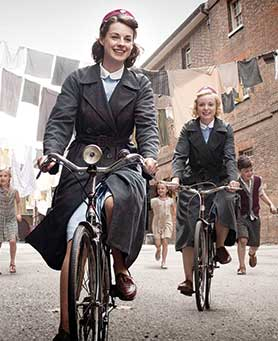 Call the Midwife has been given a sixth season before its fifth has hit screens
