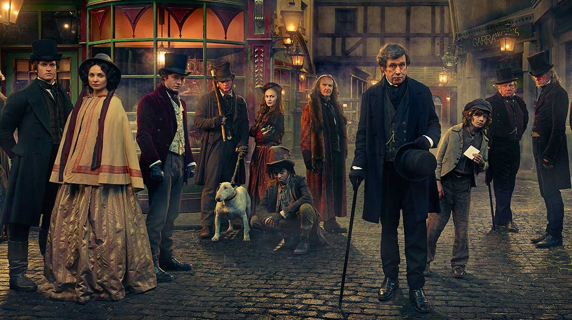 What the Dickens? The art of the shared universe