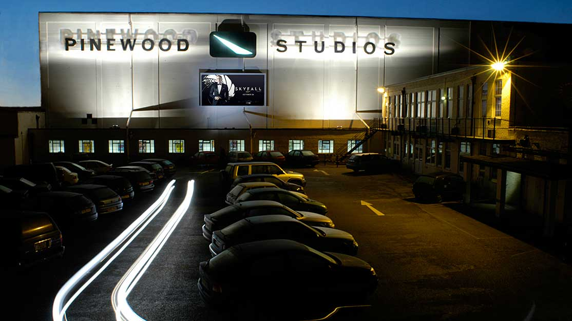 Lights, camera, action: DQ visits Pinewood Studios