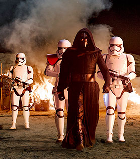 The Imaginarium also played a part in making Star Wars: The Force Awakens
