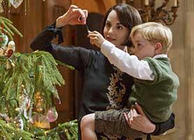 Michelle Dockery in Downton Abbey