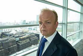 Toby Jones was chosen for his acting chops rather than any physical similarity to his character