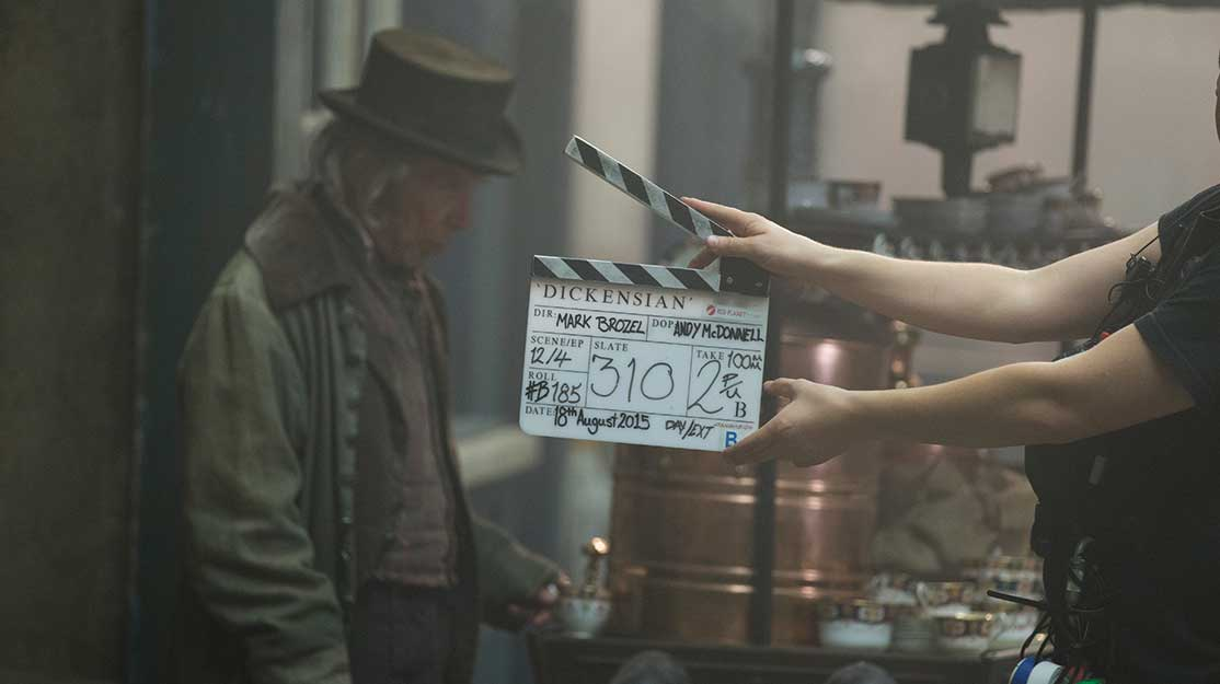 Great Expectations: On set with the BBC's Dickensian