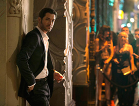Lucifer benefited from airing immediately after The X-Files on Fox