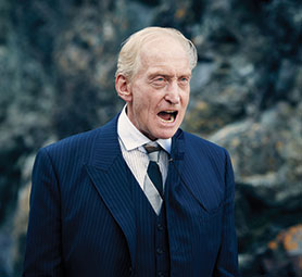 Veteran British actor Charles Dance (Game of Thrones) also stars