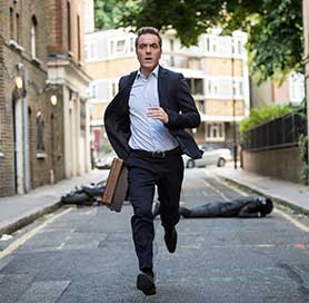 James Nesbitt in Stan Lee's Lucky Man, which airs on Sky1