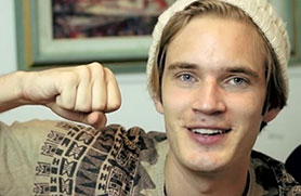 Felix Arvid Ulf Kjellberg, better known as PewDiePie, is one of YouTube's biggest stars