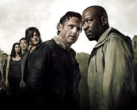 The Walking Dead continues to dominate the cable landscape