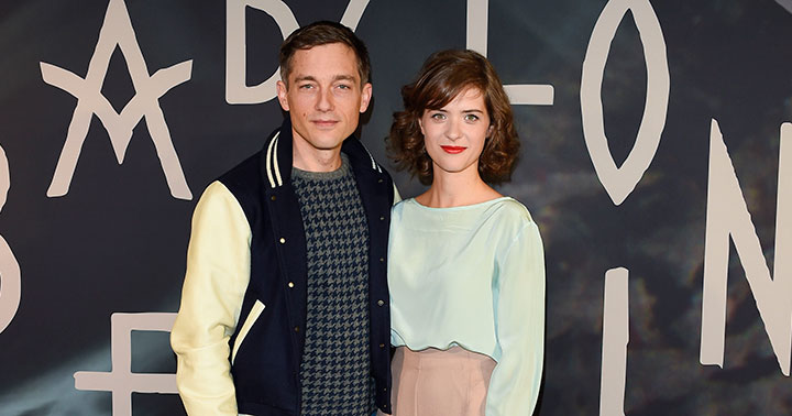 Babylon Berlin stars Volker Bruch and Liv Lisa Frise