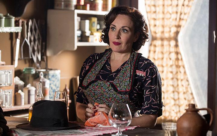 Lucy Cohu as Maigret's wife, Madame Maigret