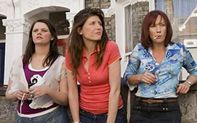 Sharon Horgan (centre) in Pulling