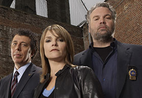 Belcer is best known for Law & Order