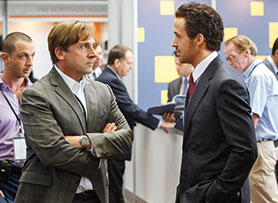Steve Carrell and Ryan Gosling in Oscar winner The Big Short