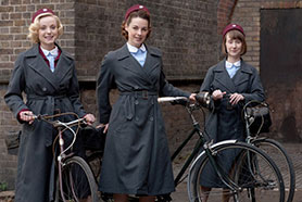 Filming for the sixth run of Call the Midwife is now underway