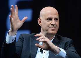 Harlan Coben at MipTV this week