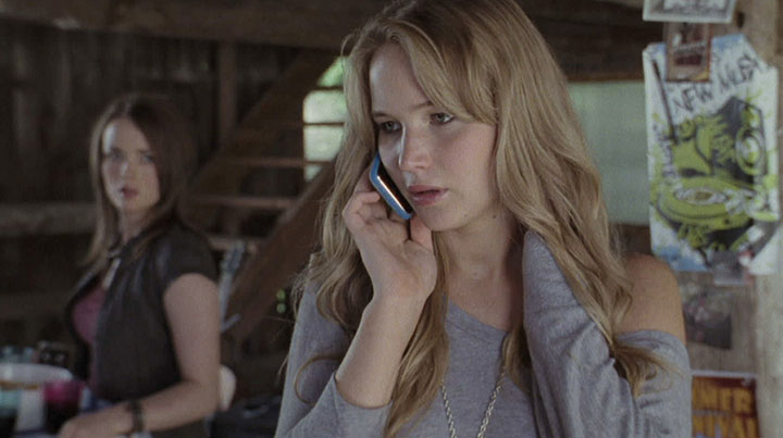 Jennifer Lawrence in Tonderai's biggest movie project, The House at the End of The Street