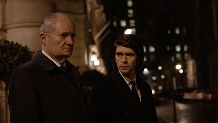 Jim Broadbent (left) and Ben Whishaw in London Spy