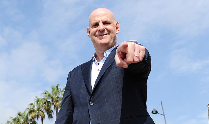 Author Harlan Coben was in attendance to promote his forthcoming TV series The Five