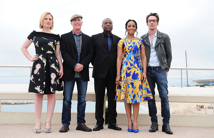 The Roots team pictured at MipTV this week