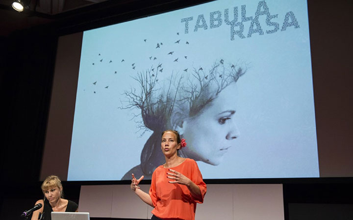 Malin and Helen Perquy present Tabula Rasa at Series Mania 2014