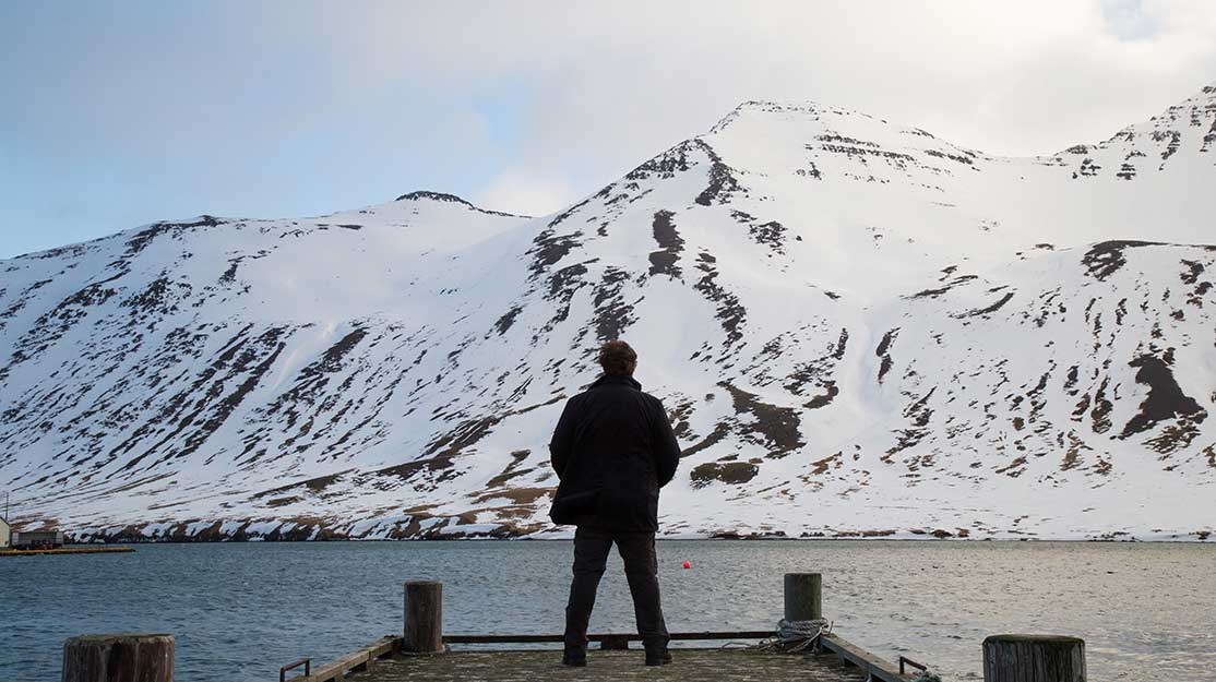 Moving mountains to make authentic Icelandic thriller