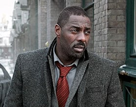 Idris Elba, pictured here in Luther, will star in Sky's Guerrilla