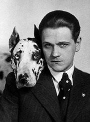 The real Bodo and his dog Sambo