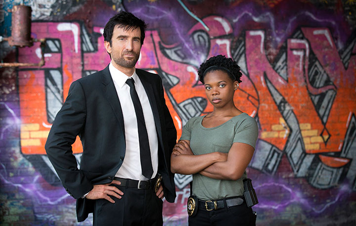 Powers stars Sharlto Copley