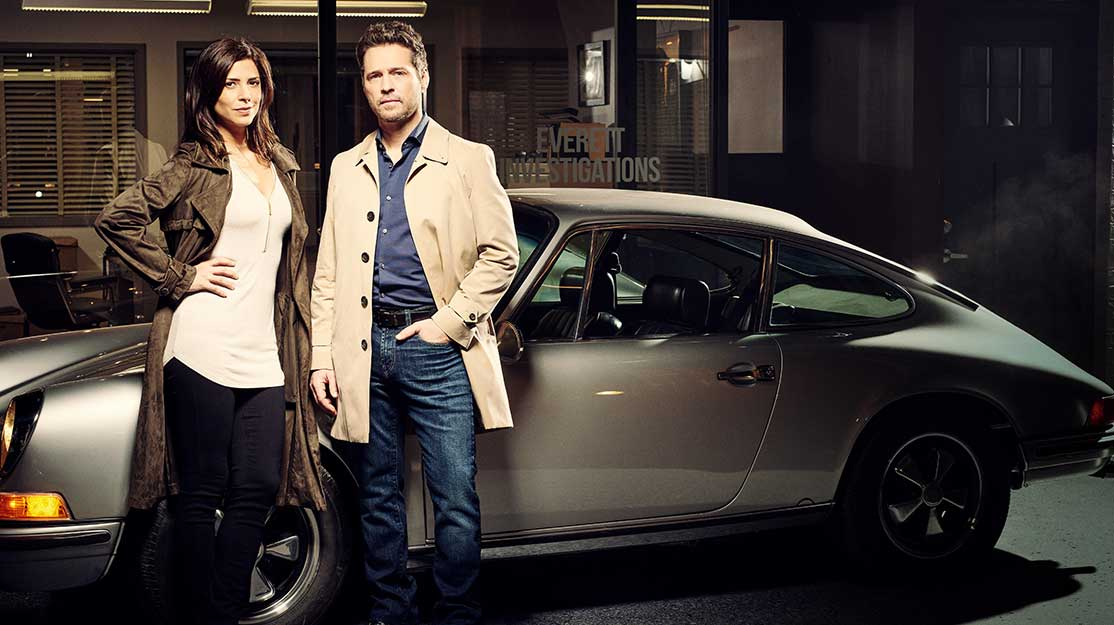 Private Eyes: DQ talks to Jason Priestly and Cindy Sampson