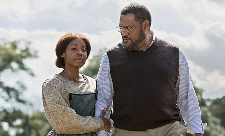 Anika Noni-Rose and Laurence Fishburne also star