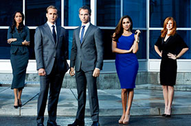 Suits focuses on slick New York City lawyers