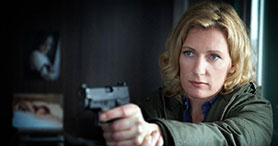 Charlotte Lindholm in ARD's long-running crime franchise Tatort, set in Hanover