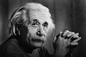 Albert Einstein will be the subject of National Geographic Channel's first full drama series