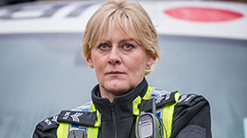 Sergeant Catherine Cawood (Sarah Lancashire) in Happy Valley