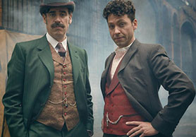 Houdini & Doyle stars Stephen Mangan (left) and Michael Weston