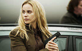 Saga Noren (Sofia Helin) in Danish/Swedish drama The Bridge