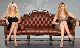 Nashville stars Hayden Panettiere (left) and Connie Britton