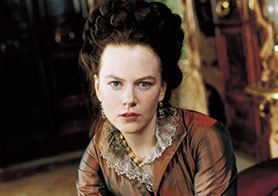 Nicole Kidman in the 1996 film adaptation of The Portrait of a Lady