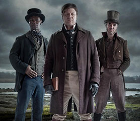The Frankenstein Chronicles stars Sean Bean (centre)