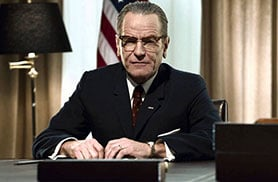 Bryan Cranston plays Lyndon B Johnson in HBO's All The Way