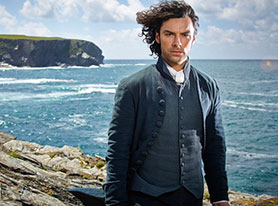 Aidan Turner as Captain Poldark