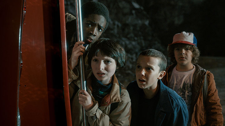 Stranger Things is described as a love letter to classic 1980s movies