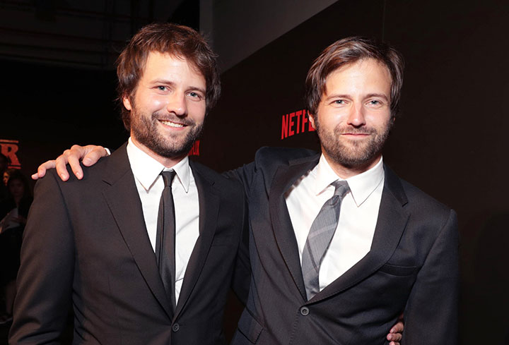 Series creators Matt and Ross Duffer: the new Coens?