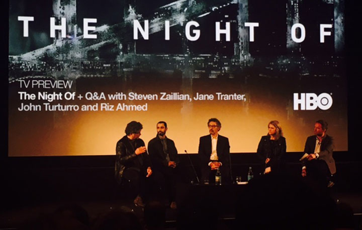 The show was discussed in a post-premiere Q&A at London's BFI