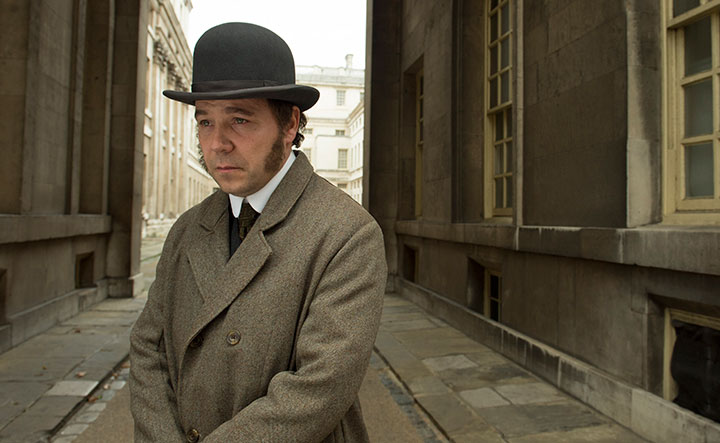 Stephen Graham as Verloc's adversary Chief Inspector Heat