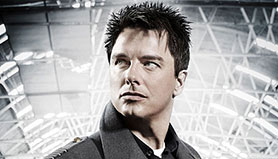 John Barrowman in Torchwood, which he says could return