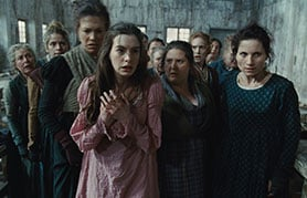 The 2012 film version of Les Misérables
