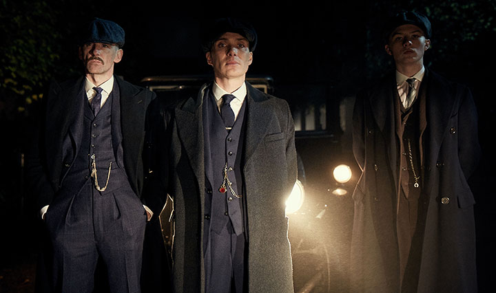 Steven Knight was best known for his film work before taking on Peaky Blinders