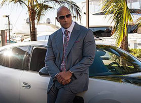 Dwayne 'The Rock' Johnson in HBO's Ballers