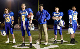 Friday Night Lights lasted five seasons on NBC